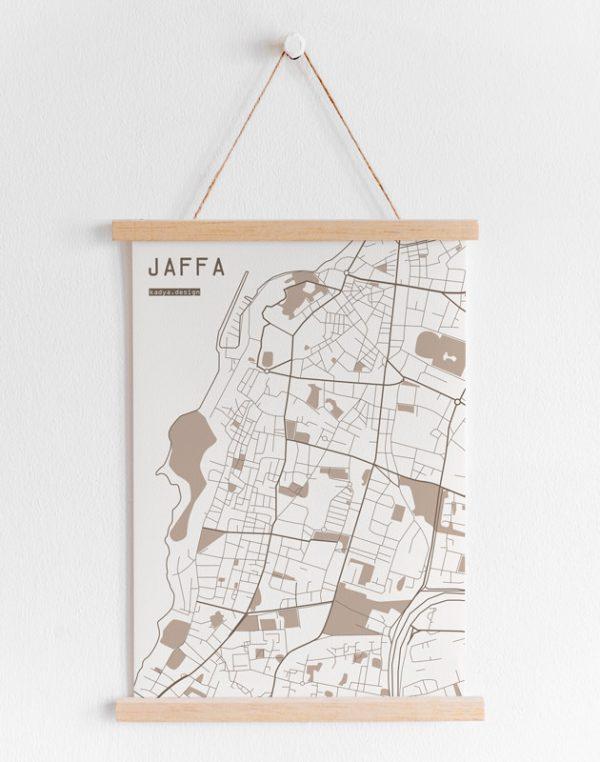 Jaffa-brown-map