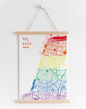 Tel Aviv Pride Map