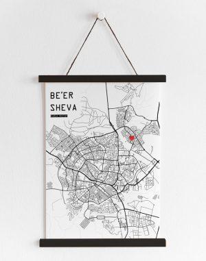 Be'er Sheva Map